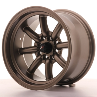 JR19 9x15 4x100/108 ET-13 MATT BRONZE