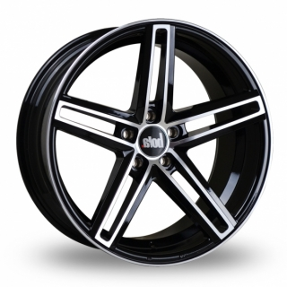 BOLA B3 9,5x19 5x130 ET45 GLOSS BLACK POLISHED FACE