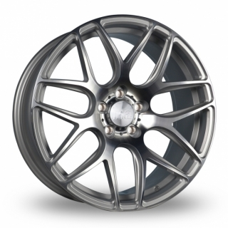 BOLA B8R 9,5x18 5x110 ET25-45 SILVER POLISHED FACE
