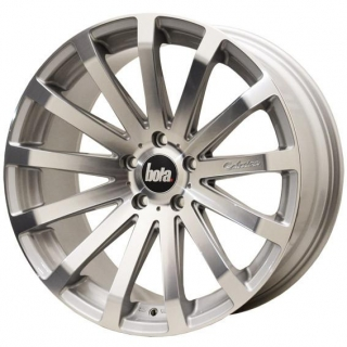 BOLA XTR 8,5x18 5x100 ET40-55 SILVER POLISHED FACE