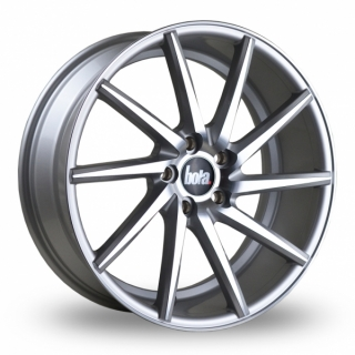 BOLA ZZR 9,5x19 5x100 ET42-45 SILVER POLISHED FACE