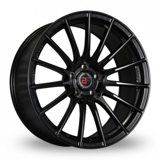 2FORGE ZF1 9x18 5x100 ET0-42 MATT BLACK