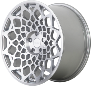 RADI8 R8B12 8,5x18 5x112 ET40 66,6 MATT SILVER MACHINED FACE