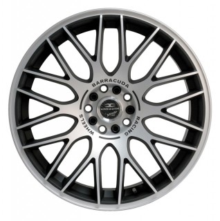 BARRACUDA KARIZZMA 8x18 4x100/108 ET38 MATT BLACK POLISHED