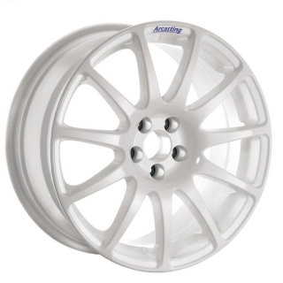 ARCASTING EXCALIBUR RALLY 7x17 4x108 ET35 WHITE FORD FOCUS RS