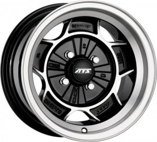 ATS CLASSIC 8x13 4x100 ET1 DIAMOND BLACK POLISHED