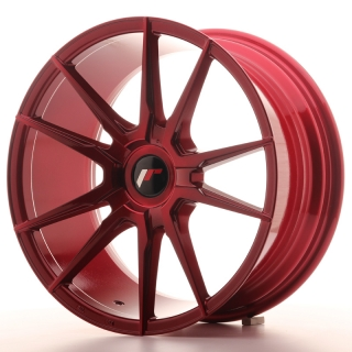 JR21 8,5x18 5x112 ET20-40 PLATINUM RED