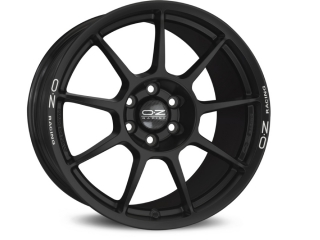 OZ RACING CHALLENGE HLT 9,5x18 5x120 ET33 MATT BLACK WHITE LETTERING