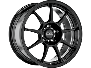 OZ RACING ALLEGGERITA HLT 5F 8x17 5x110 ET40 GLOSS BLACK