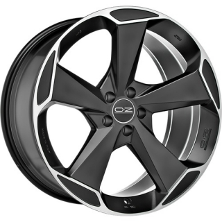 OZ RACING ASPEN HLT 10x21 5x112 ET52 MATT BLACK DIAMOND CUT
