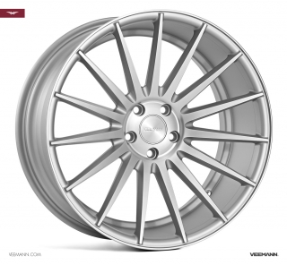 VEEMANN VC7 10,5x20 5x120 ET42 MATT SILVER MACHINED