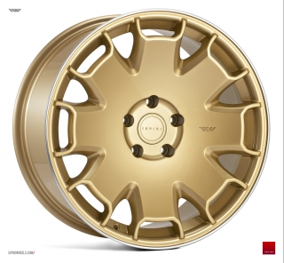 ISPIRI CSR2 8,5x19 5x112 ET42 VINTAGE GOLD POLISHED LIP