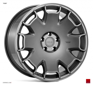ISPIRI CSR2 9,5x19 5x120 ET33 CARBON GRAPHITE POLISHED LIP