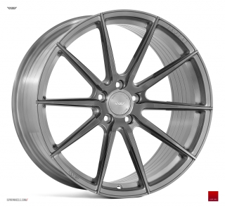 ISPIRI FFR1 9x20 5x120 ET35 FULL BRUSHED CARBON TITANIUM IW EXCLUSIVE