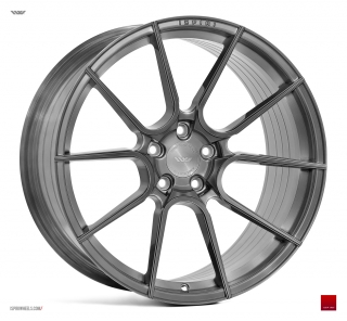 ISPIRI FFR6 10,5x21 5x112 ET43 FULL BRUSHED CARBON TITANIUM