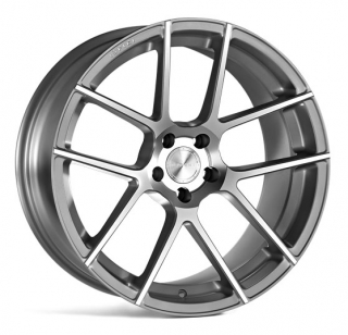ISPIRI ISR6 9x21 5x112 ET32 SATIN SILVER MACHINED