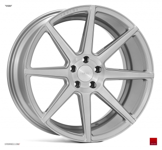 ISPIRI ISR8 9x20 5x120 ET20 SATIN SILVER MACHINED