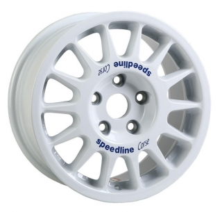 SPEEDLINE CORSE 2118 7x15 ET36 WHITE SUZUKI SWIFT SPORT racing cup