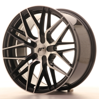 JR28 8,5x18 5x114,3 ET20-40 GLOSS BLACK MACHINED