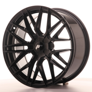 JR28 8,5x18 5H BLANK ET20-40 GLOSS BLACK