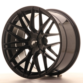 JR28 9,5x18 5H BLANK ET20-40 GLOSS BLACK