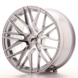 JR28 9,5x18 5H BLANK ET20-40 SILVER MACHINED