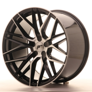 JR28 10,5x19 5x100 ET20-40 GLOSS BLACK MACHINED