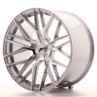 JR28 10,5x19 5x108 ET20-40 SILVER MACHINED