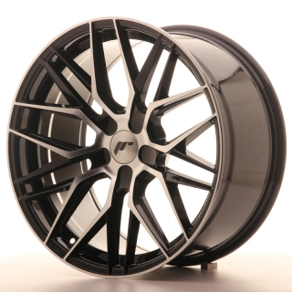 JR28 9,5x19 5x115 ET20-40 GLOSS BLACK MACHINED