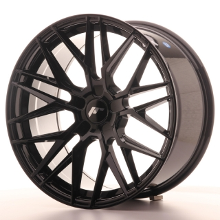 JR28 9,5x19 5x100 ET20-40 GLOSS BLACK