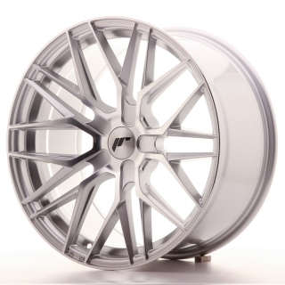 JR28 9,5x19 5x100 ET20-40 SILVER MACHINED
