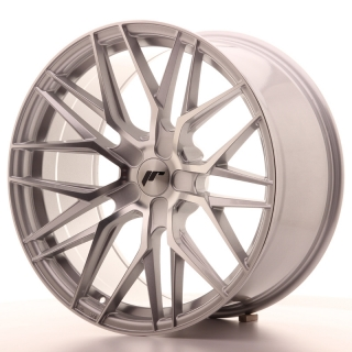 JR28 10x20 5x108 ET20-40 SILVER MACHINED