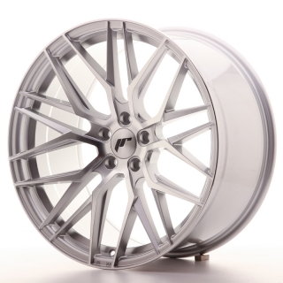 JR28 10x20 5x112 ET40 SILVER MACHINED