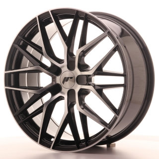 JR28 8,5x20 5H BLANK ET20-40 GLOSS BLACK MACHINED