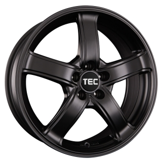 TEC AS1 6,5x15 5x100 ET38 MATT BLACK