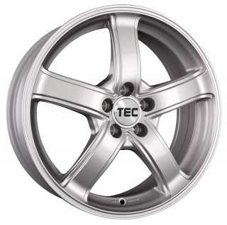 TEC AS1 7x17 5x100 ET38 CRYSTAL SILVER