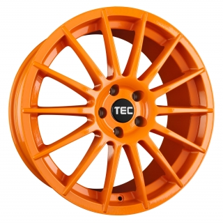 TEC AS2 7x17 4x100 ET42 RACE ORANGE
