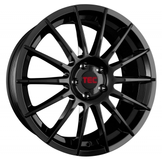 TEC AS2 7x17 4x100 ET42 GLOSS BLACK