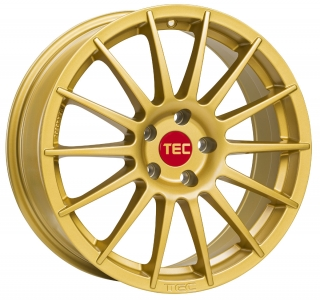TEC AS2 7x17 4x108 ET18 GOLD