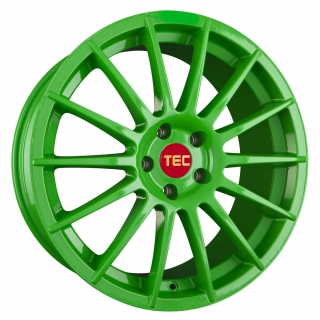 TEC AS2 7,5x17 5x100 ET38 RACE LIGHT GREEN