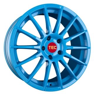 TEC AS2 7,5x17 5x100 ET38 SMURF LIGHT BLUE