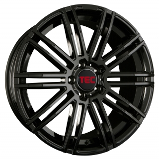 TEC AS3 7x17 4x108 ET25 GLOSS BLACK