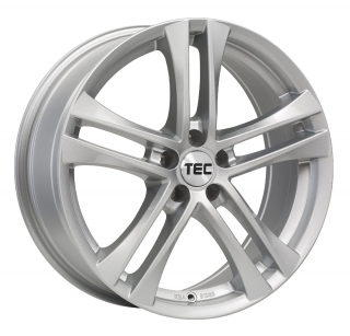 TEC AS4 6,5x16 5x100 ET38 CRYSTAL SILVER