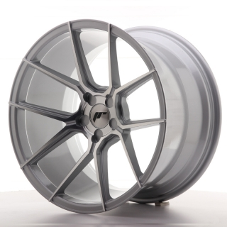 JR30 11x19 5x108 ET15-40 SILVER MACHINED
