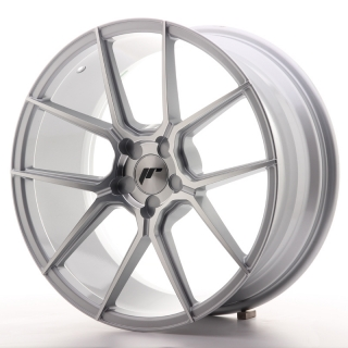 JR30 8,5x19 5H BLANK ET35-40 SILVER MACHINED