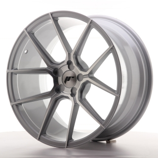 JR30 9,5x19 5x110 ET20-40 SILVER MACHINED