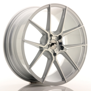 JR30 8,5x20 5x130 ET20-40 SILVER MACHINED