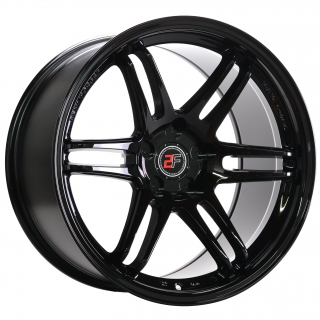 2FORGE ZF5 10x18 5x118 ET0-38 GLOSS BLACK