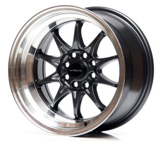 ULTRALITE UL48 8x15 4x100/108 ET0 DARK GREY
