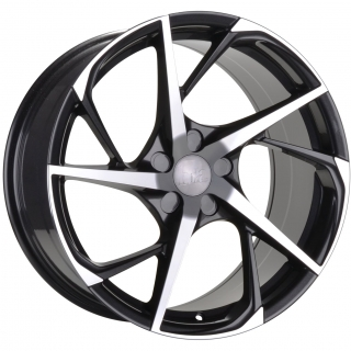 BOLA B18 9,5x19 5x114,3 ET25-45 GUNMETAL POLISHED FACE